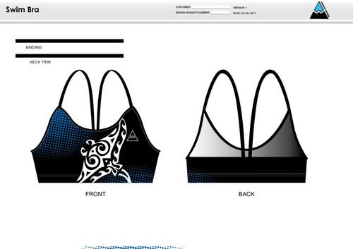 Gulf Coast Multisport Black Women's Two Piece Swimsuit