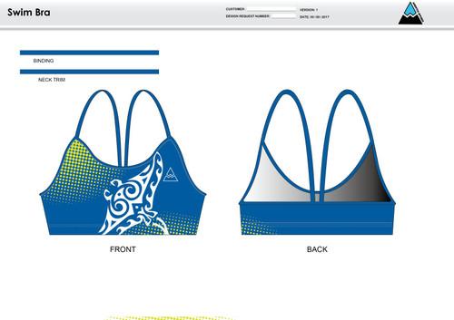 Gulf Coast Multisport Neon Women's Two Piece Swimsuit