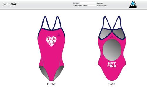HPT Women's One Piece Swimsuit