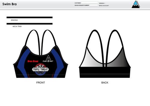 Triple Threat Women's Two Piece Swimsuit