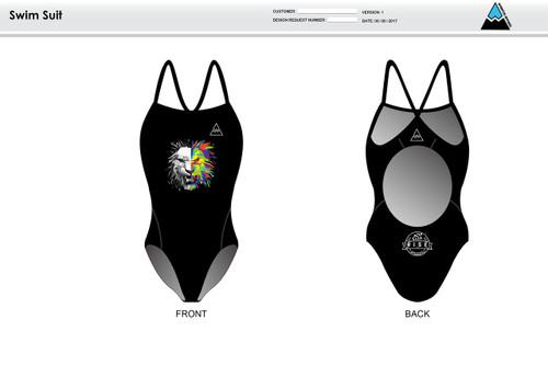 RISE Women's One Piece Swimsuit