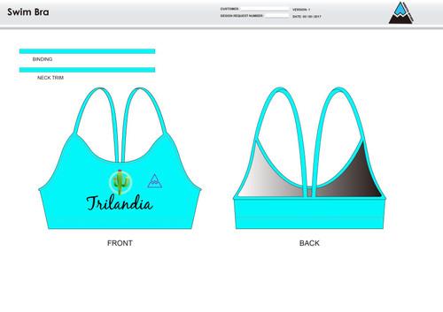 Trilandia Women's Two Piece Swimsuit