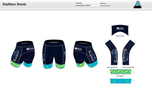 NLE Women's Tri Shorts