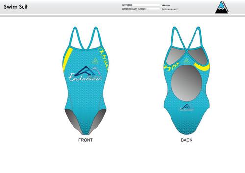 NLE Women's One Piece Swimsuit