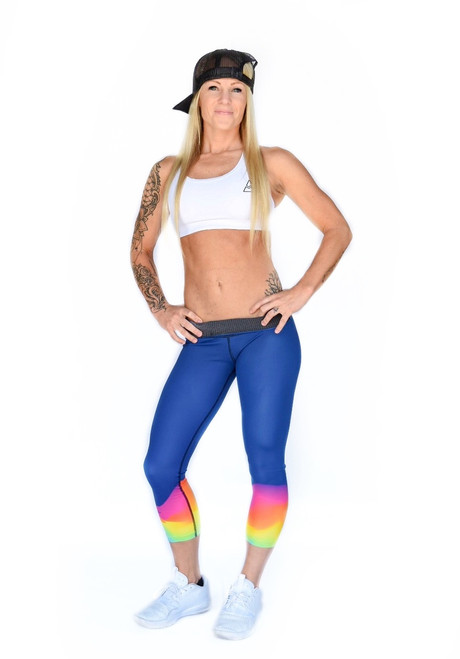 Blaze Women's 3/4 Fitness Tights