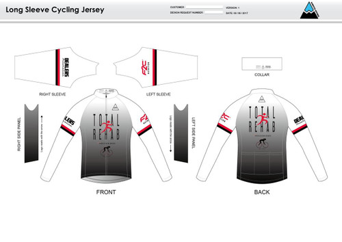 Carr Long Sleeve Thermal Cycling Jersey
