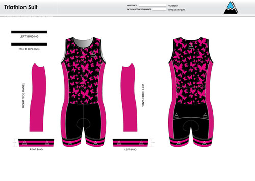 Ayla Youth Tri Suit