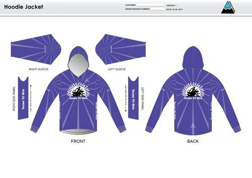 Tucson Tri Girls Casual Hoodie Jacket