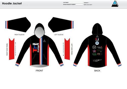 Tri Avengers Casual Hoodie Jacket