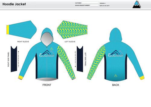 NLE Casual Hoodie Jacket