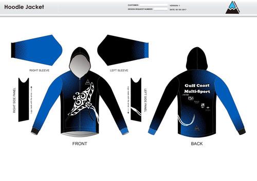 Gulf Coast Multisport Black Casual  Hoodie Jacket