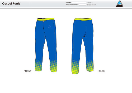 Gulf Coast Multisport Neon Warm Up Pants