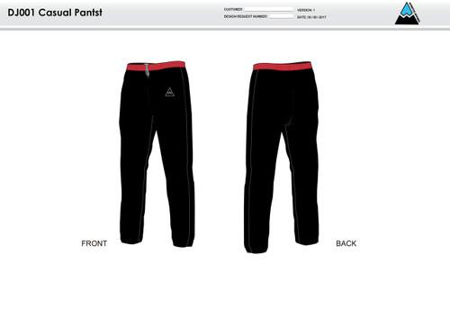 Cajun Mile Warm Up Pants