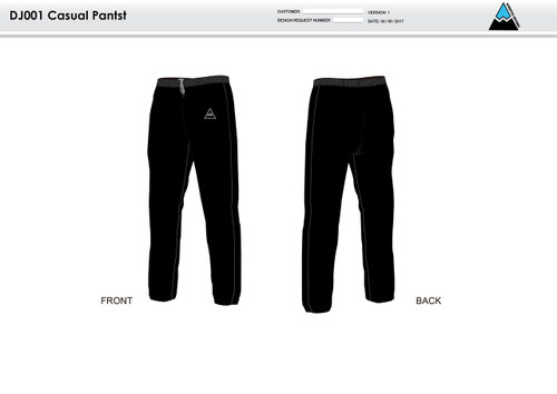 All In Racing Warm Up Pants