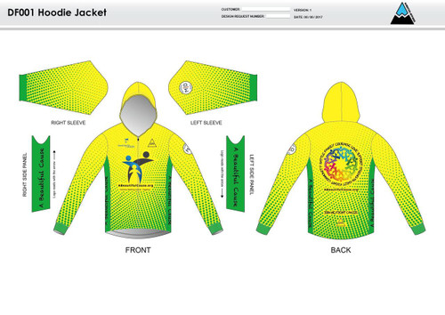 A Beautiful Cause Casual Hoodie Jacket