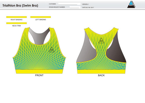 CTW Triathlon Bra