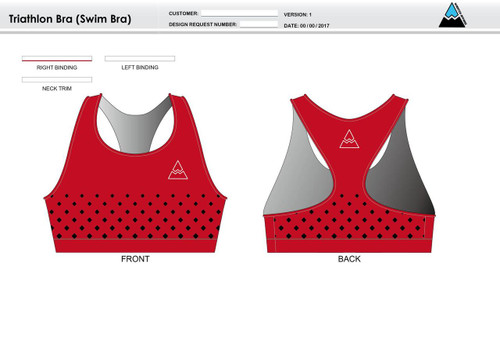 Butte Triathlon Bra