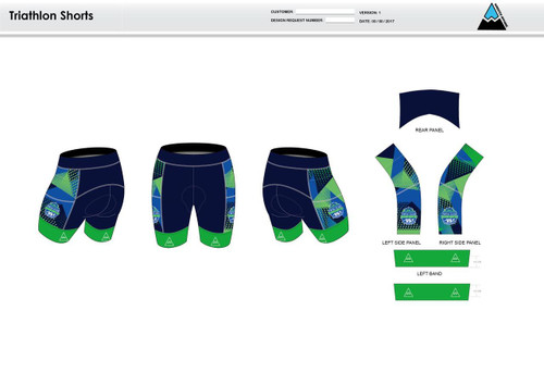 FWT Alternate Men's Tri Shorts