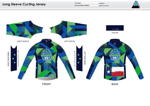FWT Alternate Long Sleeve Cycling Jersey