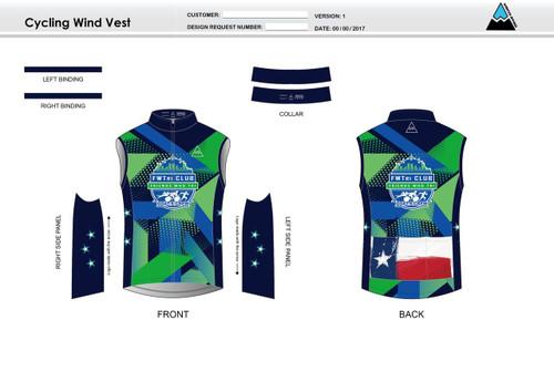 FWT Alternate Cycling Wind Vest