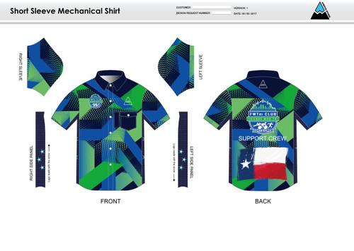 FWT Alternate Adult Mechanic Shirt - UNISEX Sizing