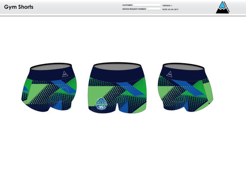 FWT Alternate Women's Compression Fitness Shorts
