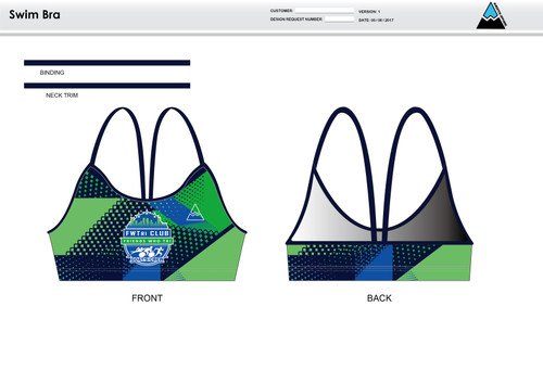 FWT Alternate Women's Two Piece Swimsuit
