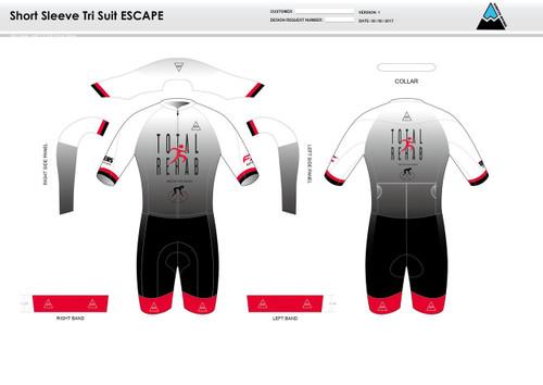 Carr ESCAPE Short Sleeve Tri Suit