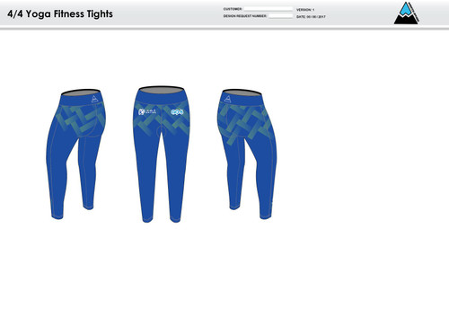 K2 Racing Women's Full Length Fitness Tights