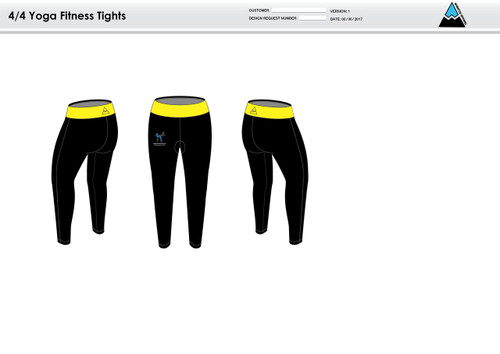 A Beuatiful Cause Women's Full Length Fitness Tights