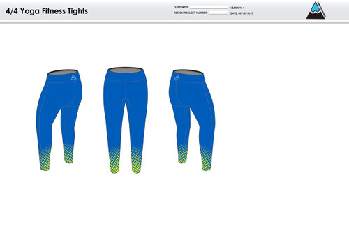 Gulf Coast Multisport Neon Women's Full Length Fitness Tights
