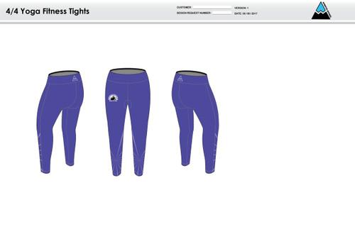 Tucson Tri Girls Women's Full Length Fitness Tights