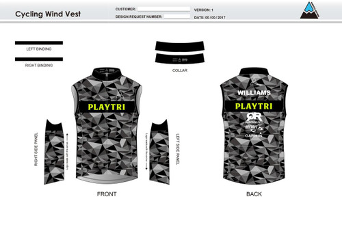 Playtri Cycling Wind Vest