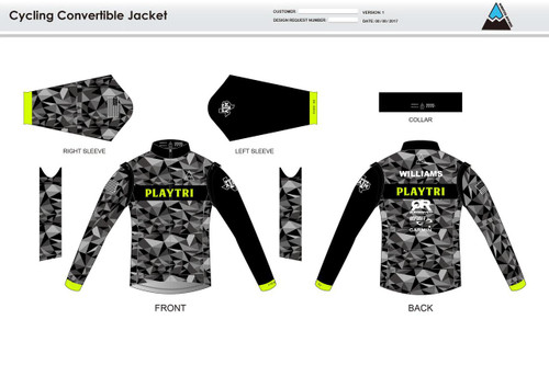 Playtri Convertible Jacket