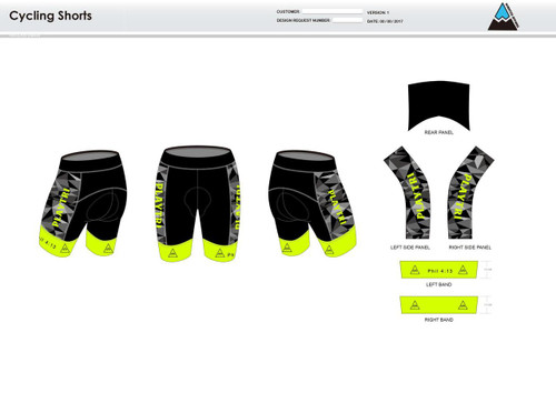 Playtri Cycling Shorts