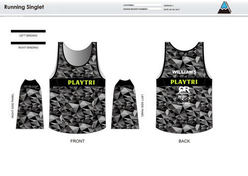 Playtri Running Tank