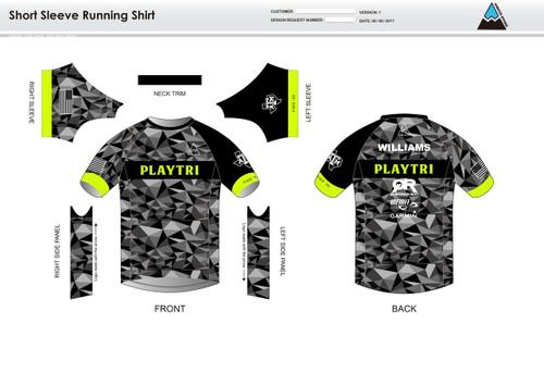 Playtri Short Sleeve Running Shirt