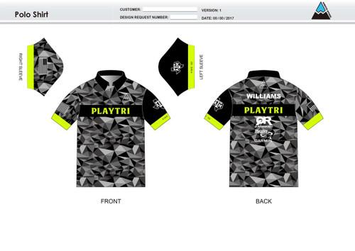 Playtri Youth Polo Shirt