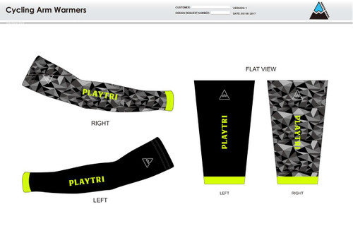 Playtri Cycling Arm Sleeves