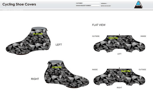 Playtri Cycling Shoe Covers