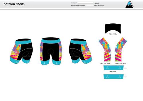 Fusion Endurance Men's Tri Shorts