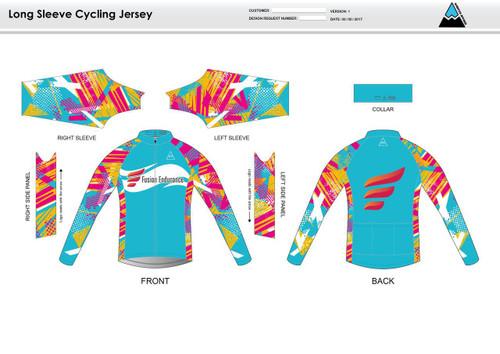 Fusion Endurance Long Sleeve Thermal Cycling Jersey