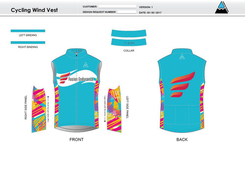 Fusion Endurance Cycling Wind Vest