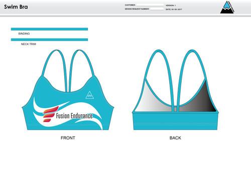 Fusion Endurance Women's Two Piece Swimsuit