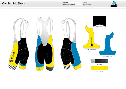 Gold Country Cycling Bibs