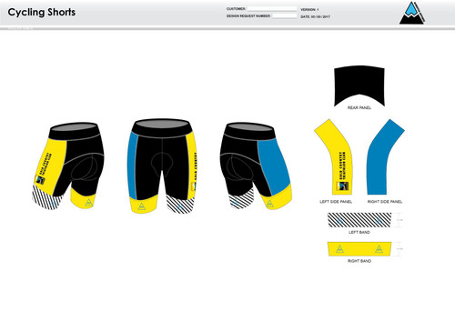 Gold Country Cycling Shorts
