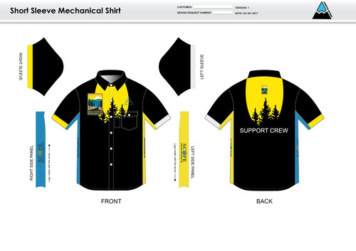 Gold Country Mechanic Shirt - UNISEX Sizing