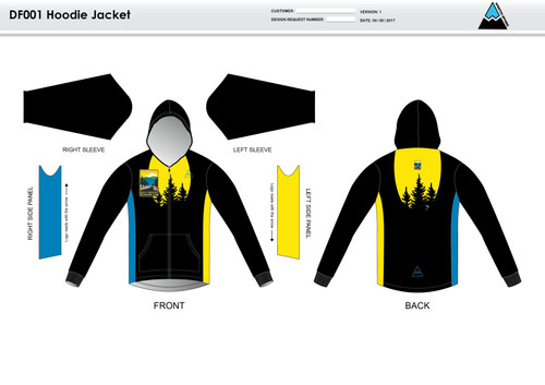 Gold Country Hoodie Jacket