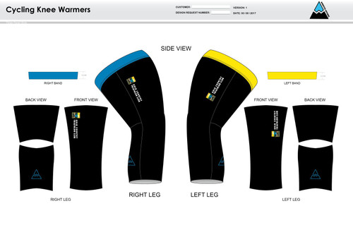 Gold Country Cycling Knee Sleeves