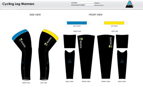 Gold Country Cycling Leg Sleeves
